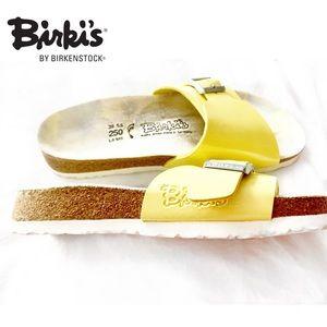 Birkenstock Shoes - BIRKI'S BY BIRKENSTOCK YELLOW SANDALS 250 L8 M6